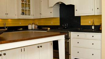 Kentucky White/ Soapstone Kitchen