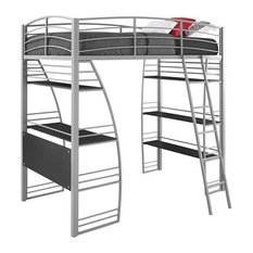 South Shore Bunk Bed Twin Over Full With Attached Desk