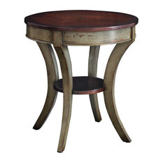 Uttermost Loukas Wooden Lamp Table