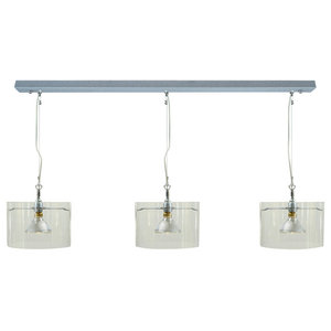 Tubo Pendant Light, Triple