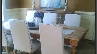 Elegant feel/old world reclaimed wooden table