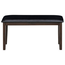 Transitional Dining Benches by Furinno