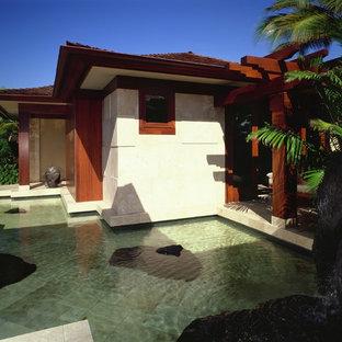 Zen home design photo in Hawaii