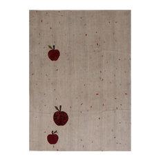 Kelim Red Apple Handwoven Rug, 190x255 cm