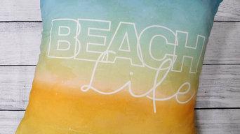 Beach Life Cushion