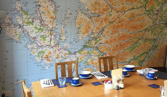 Ordnance Survey Wallpaper Map for Seadrift B & B
