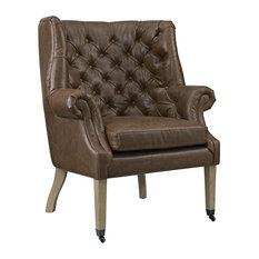 Modway Chart Vinyl Lounge Chair
