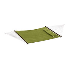 """Bliss Hammock Quilted With Pillow Poly With """"S"""" Stitch, Sage Green"""