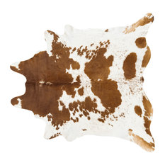 pergamino pergamino brown and white cowhide rug extra extra large novelty rugs