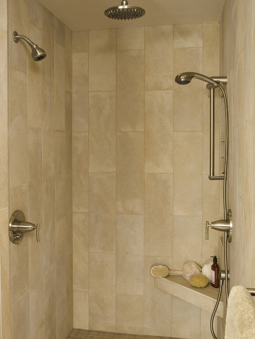 Best vertical tile shower design ideas amp remodel pictures houzz