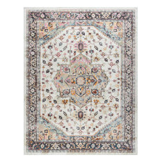 Kinsley Traditional Oriental Brown Rectangle Area Rug, 11'x14.6'