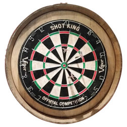 Rustic Darts And Dartboards by Wineyguys