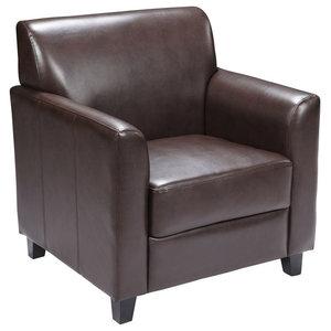 Flash Furniture Home Office Hercules Diplomat Series Set, Brown