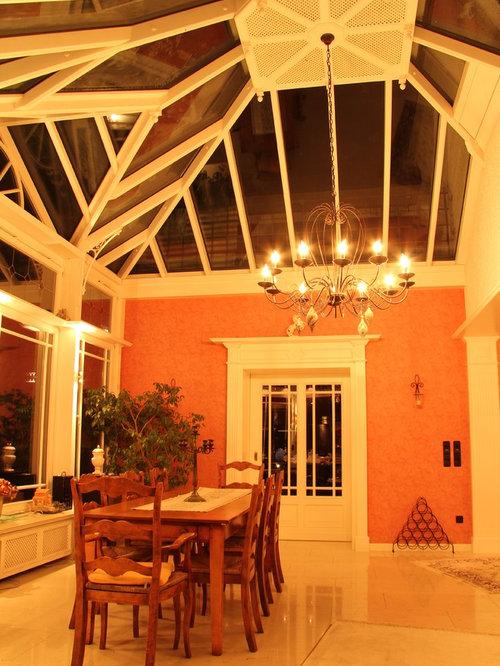 Victorian Orange Living Design Ideas Remodels Photos