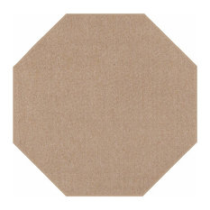 Indoor Outdoor Carpet, Beige, 4' Octagon