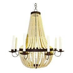 Baroque chandeliers houzz dr livingstone i presume romantic iron cream beaded candle chandelier victorian 6 aloadofball Images