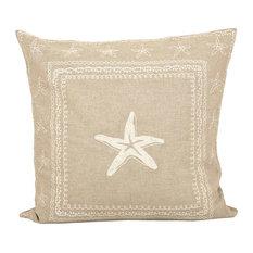 "Pomeroy Marian 20""x20"" Pillow, Sand, Crema"