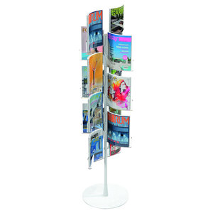 Wing High Magazine Rack, 7 Wings