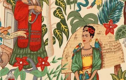 Große Kunst: Wohnen als Hommage an Frida Kahlo