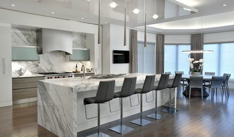 Vaughan New home kitchen by Moscone Marble
