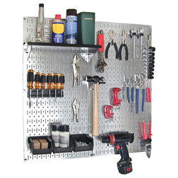 Contemporary Garage And Tool Storage by Wall Control