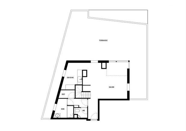 Avant/Après : Un penthouse en duplex s'ouvre vers l'extérieur