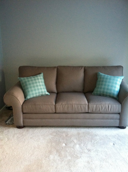 Help My Sofa Was Gray In The Store But Looks Brown In My House