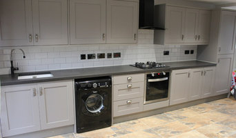 Galaxy Black Fibre Optic Kitchen Worktop
