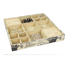 Home Basics Jumbo Jewelry Organizer Paris