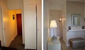 Home Staging et Relooking d'un studio de 17,7 m2 pour une location meublée
