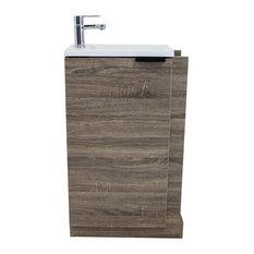 Aqua Plus Woody Bathroom Vanity 23 Vanities And Sink Consoles