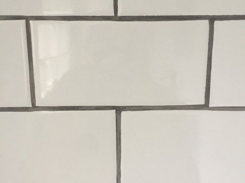 Contractor Did Grout Lines Uneven Help