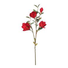 Magnolia X 4, Red, Set of 3