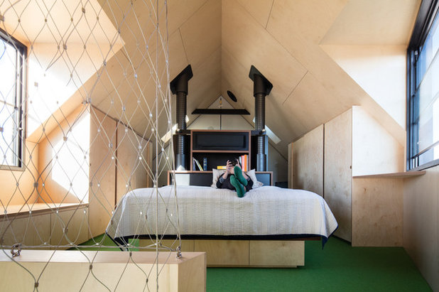 Contemporary Bedroom by OOF! Architecture