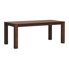 Classic Wooden Dining Table, Walnut, Small