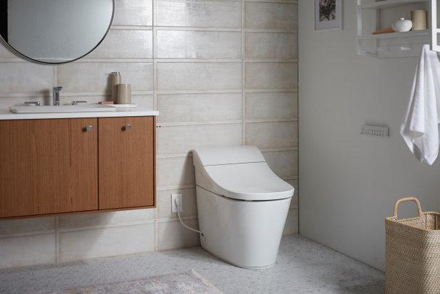 浴室 Kohler smart toilet