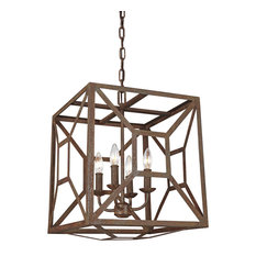 Murray Feiss Marquelle Four Light Chandelier F3171/4WI