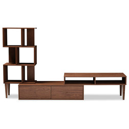 Midcentury Entertainment Centers And Tv Stands by Baxton Studio