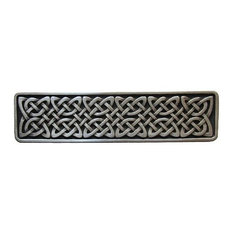 Notting Hill Decorative Hardware   Notting Hill Celtic Isles Pull   Antique  Pewter   Cabinet And