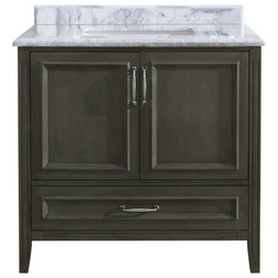 Cute Transitional Bathroom Vanities And Sink Consoles by Ari Kitchen u Bath