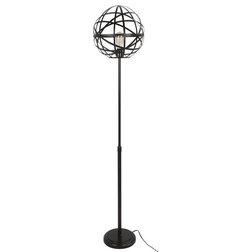 Industrial Floor Lamps by HedgeApple