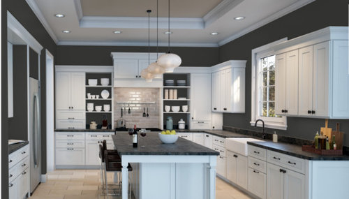 White Kitchen Cabinets With Dark Walls Need kitchen paint advice