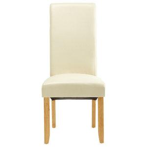 Kingston Chairs, Cream, Set of 2