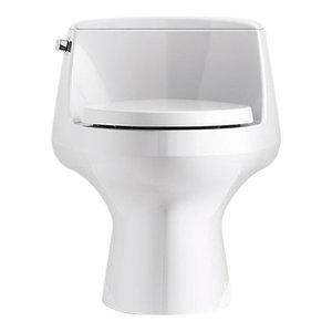 Kohler San Raphael, Skirted 1-Piece Elongated 1.28 Gpf Toilet, White