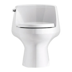 Kohler - Kohler San Raphael, Skirted 1-Piece Elongated 1.28 Gpf Toilet, White - Toilets