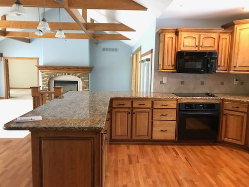Need Help With Paint Colors Oak Trim