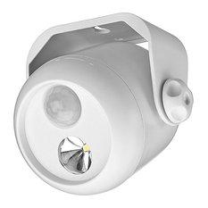 Mr. Beams MB300 Wireless LED Motion Sensor Mini Spotlight, White