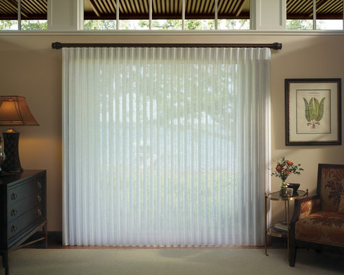 Vertical Blinds - Hunter Douglas Luminette Privacy Sheers - Chesterfield,  Mo - Vertical Blinds