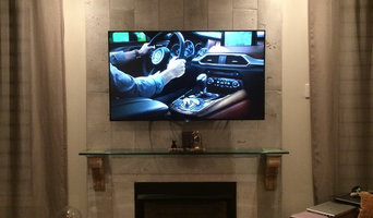 Above fire place TV wall mounting