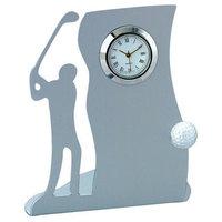 Visol Drive Golf Themed Metal Desk Clock